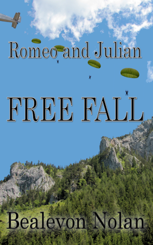 Romeo an Julian - FREE FALL by Bealevon Nolan - Cover